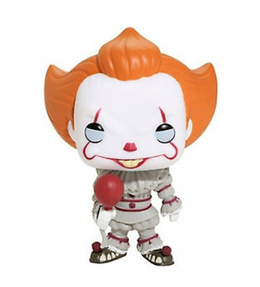 PENNYWISE AVEC BALLON / IT / FIGURINE FUNKO POP / EXCLUSIVE SPECIAL EDITION