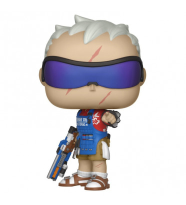 SOLDIER 76 / OVERWATCH / FIGURINE FUNKO POP / SDCC 2018 EXCLUSIVE