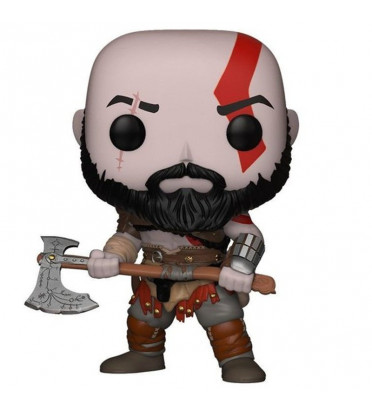KRATOS AVEC HACHE / GOD OF WAR / FIGURINE FUNKO POP