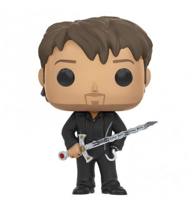 HOOK AVEC EXCALIBUR / ONCE UPON A TIME / FIGURINE FUNKO POP / BOITE ABIMÉE