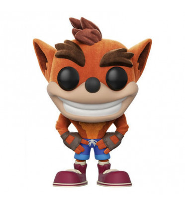 CRASH BANDICOOT / CRASH BANDICOOT / FIGURINE FUNKO POP / FLOCKED / EXCLUSIVE