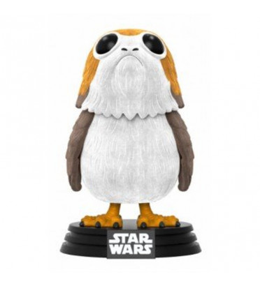 PORG / STAR WARS / FIGURINE FUNKO POP/ FLOCKED / EXCLUSIVE