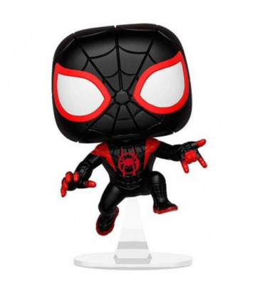 MILES MORALES SPIDER-MAN / SPIDER-MAN INTO THE SPIDER-VERSE / FIGURINE FUNKO POP