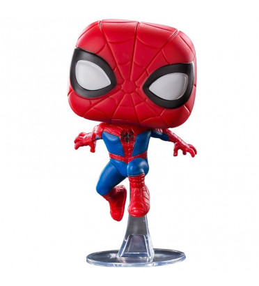 PETER PARKER / SPIDER-MAN INTO THE SPIDER-VERSE / FIGURINE FUNKO POP