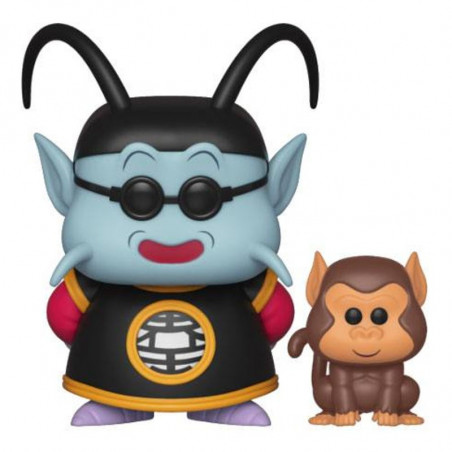 KING KAI ET BUBBLES / DRAGON BALL Z / FIGURINE FUNKO POP