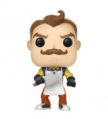 THE NEIGHBOR AVEC TABLIER ET HACHE / HELLO NEIGHBOR / FIGURINE FUNKO POP / EXCLUSIVE