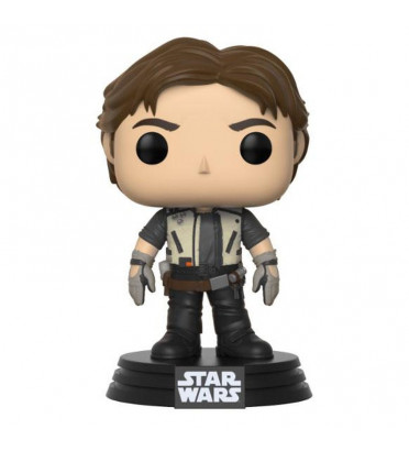 HAN SOLO AVEC BLOUSON / STAR WARS / FIGURINE FUNKO POP / EXCLUSIVE