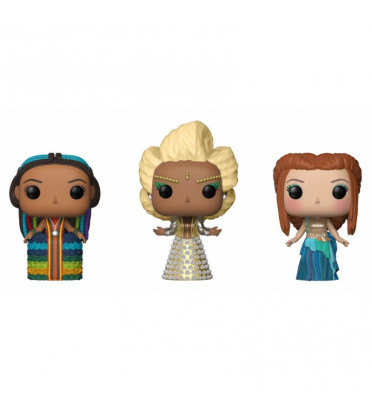 3-PACK MRS WHO,MRS WHICH,MRS WHATSIT / A WRINKLE IN TIME / FIGURINE FUNKO POP / EXCLUSIVE / BOITE ABIMÉE