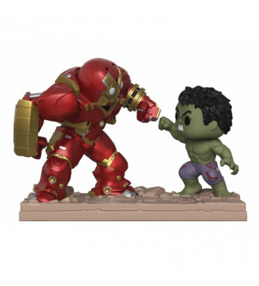 HULKBUSTER VS HULK MOVIE MOMENTS / MARVEL STUDIOS / FIGURINE FUNKO POP / EXCLUSIVE NYCC 2018