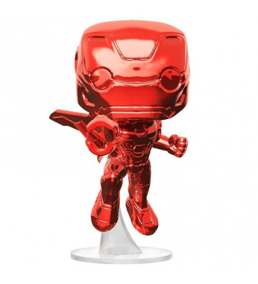 IRON MAN ROUGE CHROME / AVENGERS INFINITY WAR / FIGURINE FUNKO POP / EXCLUSIVE SPECIAL EDITION