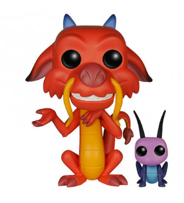 MUSHU ET CRICKET / MULAN / FIGURINE FUNKO POP