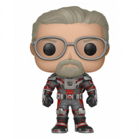 HANK PYM UNMASKED / ANT MAN / FIGURINE FUNKO POP / EXCLUSIVE SPECIAL EDITION