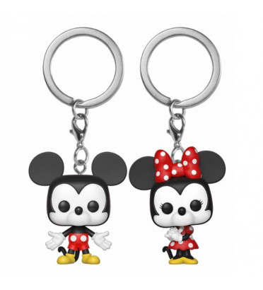 2 PACK MICKEY ET MINNIE / MICKEY MOUSE / FUNKO POCKET POP
