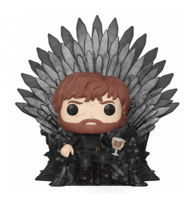 TYRION LANNISTER SUR LE TRONE DE FER / GAME OF THRONES / FIGURINE FUNKO POP