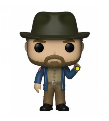 HOPPER FLASHLIGHT / STRANGER THINGS / FIGURINE FUNKO POP