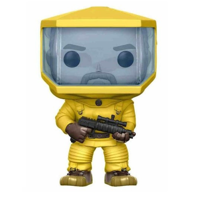 HOPPER BIOHAZARD SUIT / STRANGER THINGS / FIGURINE FUNKO POP / EXCLUSIVE SPECIAL EDITION