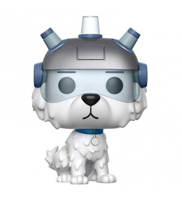 SNOWBALL / RICK ET MORTY / FIGURINE FUNKO POP / EXCLUSIVE / FLOCKED