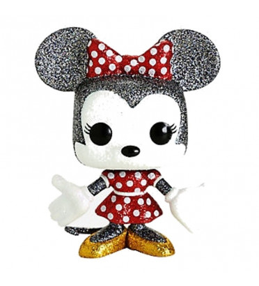 MINNIE MOUSE / MICKEY MOUSE / FIGURINE FUNKO POP / EXCLUSIVE HOT TOPIC / DIAMOND
