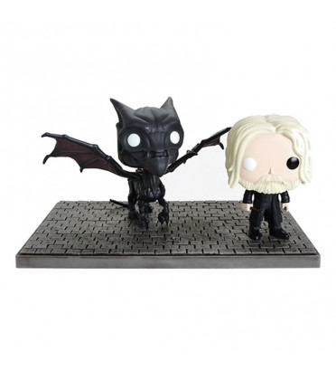 GRINDELWALD ET THESTRAL / LES ANIMAUX FANTASTIQUES 2 / BOITE ABIMEE / FIGURINE FUNKO POP