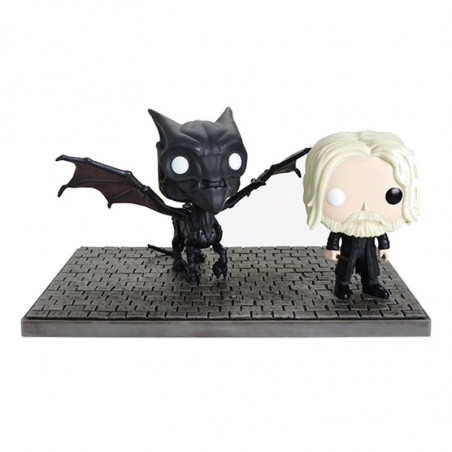 GRINDELWALD ET THESTRAL / LES ANIMAUX FANTASTIQUES 2 / BOITE ABIMEE / FIGURINE FUNKO POP / EXCLUSIVE HOT TOPIC