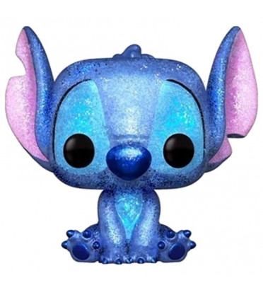 STITCH / LILO ET STICH / FIGURINE FUNKO POP / BOITE ABIMEE / EXCLUSIVE / DIAMOND