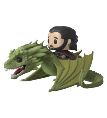 JON SNOW AVEC RHAEGAL / GAME OF THRONES / FIGURINE FUNKO POP