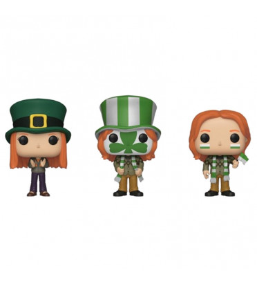 3 PACK GINNY,FRED, GEORGE / HARRY POTTER / FIGURINE FUNKO POP