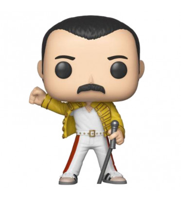 FREDDIE MERCURY WEMBLEY / QUEEN / FIGURINE FUNKO POP