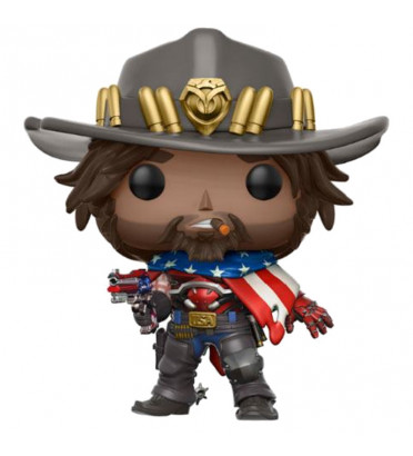 MC CREE / OVERWATCH / FIGURINE FUNKO POP / EXCLUSIVE SPECIAL EDITION