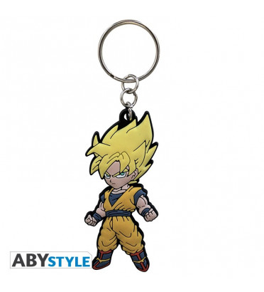 "DRAGON BALL - Porte clé PVC ""DBZ/Goku"""
