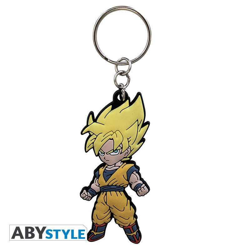 """DRAGON BALL - Porte clé PVC """"DBZ/Goku"""""""