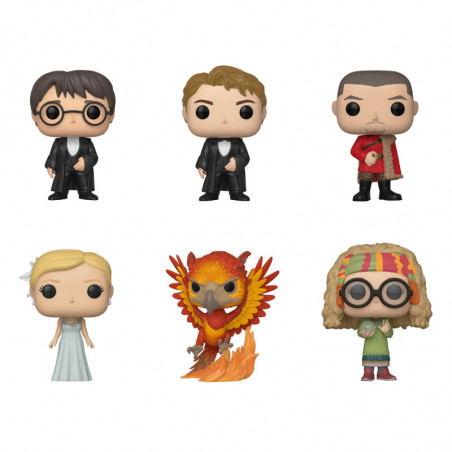 PACK DE 6 HARRY POTTER / HARRY POTTER / FIGURINE FUNKO POP