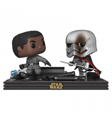 REMATCH ON THE SUPREMACY / STAR WARS MOVIE MOMENTS / FIGURINE FUNKO POP