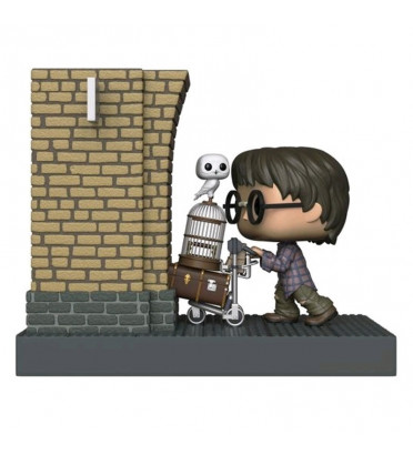 HARRY POTTER ENTERING PLATEFORM 9 3/4 MOVIE MOMENTS / HARRY POTTER / FIGURINE FUNKO POP / EXCLUSIVE SPECIAL EDITION