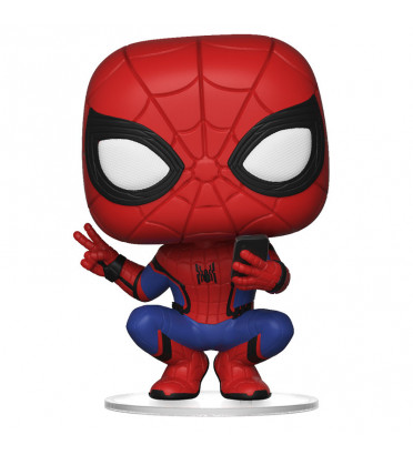 SPIDER MAN HERO SUIT/ SPIDER-MAN FAR FROM HOME / FIGURINE FUNKO POP