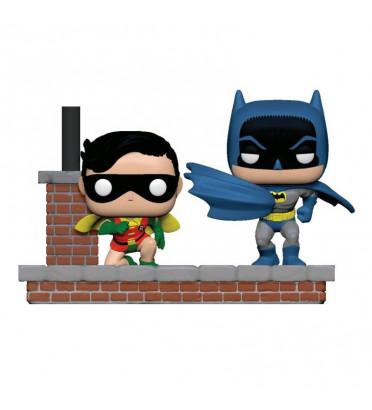 BATMAN ET ROBIN NEW LOOK 1964 MOVIE MOMENTS / BATMAN / FIGURINE FUNKO POP