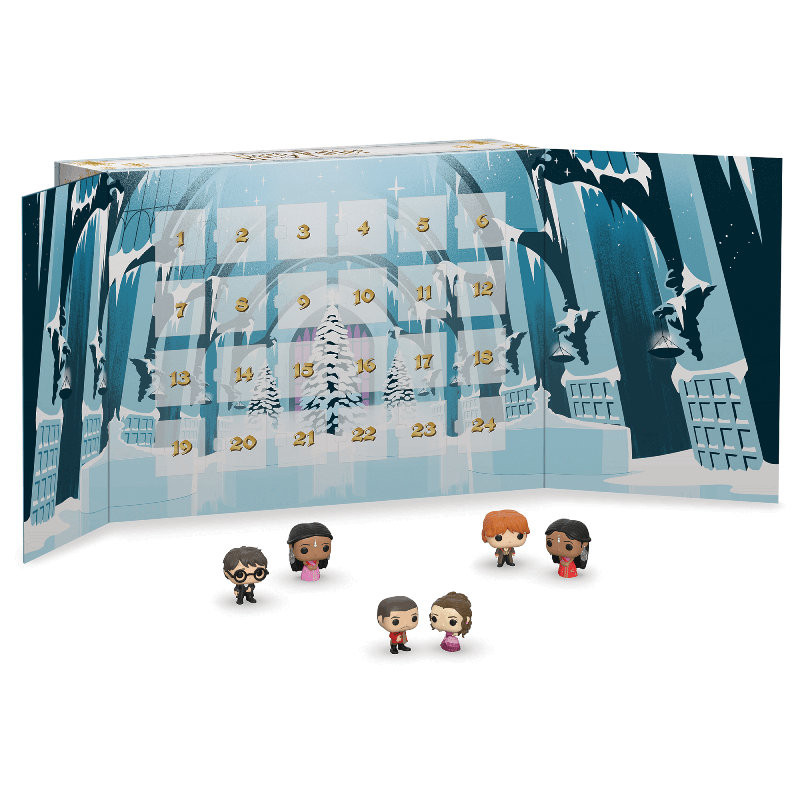 Calendrier De Lavent Harry Potter Funko Pop.Calendrier De L Avent Harry Potter 2019 Harry Potter Figurine Funko Pop