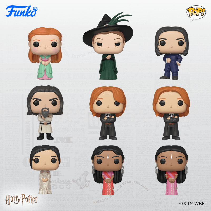 PACK DE 9 HARRY POTTER / HARRY POTTER / FIGURINE FUNKO POP
