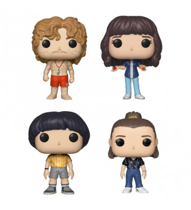 PACK DE 4 STRANGER THINGS / STRANGER THINGS / FIGURINE FUNKO POP