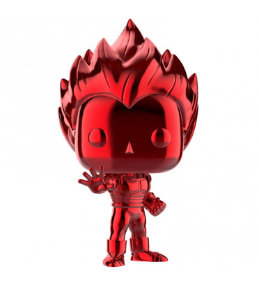 SUPER SAIYAN VEGETA CHROME ROUGE / DRAGON BALL Z / FIGURINE FUNKO POP / EXCLUSIVE SDCC