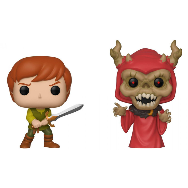 2 PACK TARAN ET HORNED KING / BLACK CAULDRON / FIGURINE FUNKO POP / EXCLUSIVE SDCC 2019