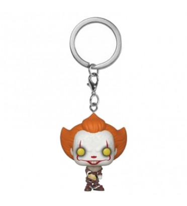 PENNYWISE AVEC BEAVER HAT / IT / FUNKO POCKET POP