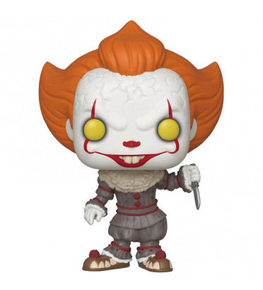 PENNYWISE AVEC BLADE / IT / FIGURINE FUNKO POP / EXCLUSIVE SPECIAL EDITION