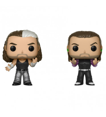 2 PACK THE HARDY BOYZ / WWE / FIGURINE FUNKO POP