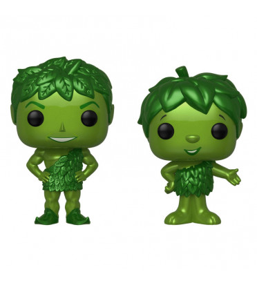 2 PACK GEANT VERT ET SPROUT METALLIC / GREEN GIANT / FIGURINE FUNKO POP / EXCLUSIVE SPECIAL EDITION