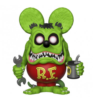 RAT FINK / RATFINK / FIGURINE FUNKO POP / GITD / EXCLUSIVE SDCC 2019