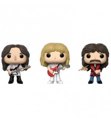 3 PACK GEDDY LEE, ALEX LIFESON,NEIL PEART / RUSH / FIGURINE FUNKO POP