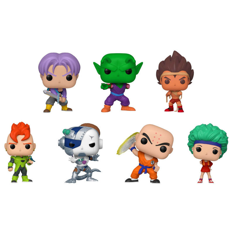 PACK DE 7 FIGURINES / DRAGON BALL Z / FIGURINE FUNKO POP