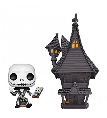 JACK SKELLINGTON ET JACKS HOUSE / LETRANGE NOEL DE MR JACK / FIGURINE FUNKO POP