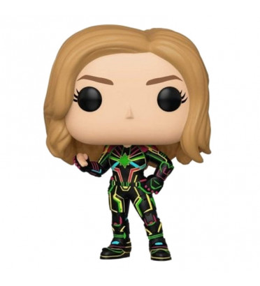 CAPTAIN MARVEL NEON SUIT / CAPTAIN MARVEL / FIGURINE FUNKO POP